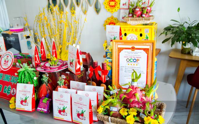 HTX thanh long sạch Hòa Lệ đạt chứng nhận OCOP 4 sao của tỉnh Bình Thuận năm 2020. Ảnh: Nguyên Vỹ