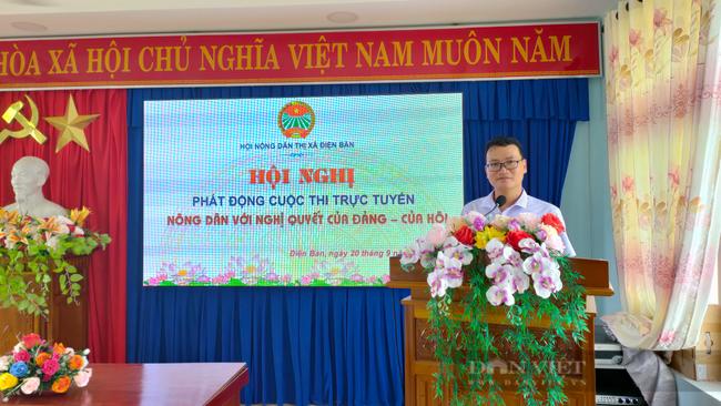 Quảng Nam: Tăng cường ứng dụng công nghệ thông tin cho hội viên nông dân - Ảnh 1.