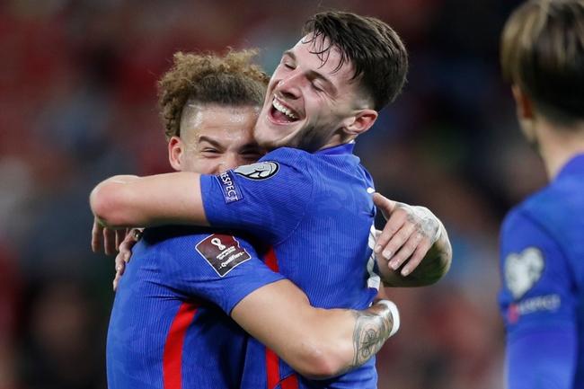 Vòng loại World Cup 2022 khu vực châu Âu: Anh, Bỉ đại thắng - Ảnh 1.