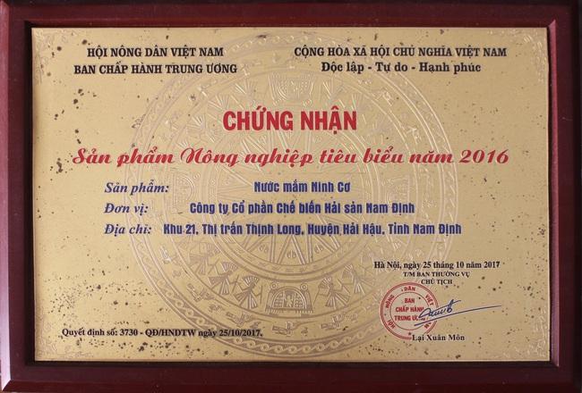 """""""Mật của biển"""", thứ nước không hóa chất, không nước tạo màu đạt OCOP 4 sao đầu tiên ở Nam Định - Ảnh 5."""