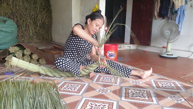 Ninh Bình: Đưa rơm khô xuất ngoại, nông dân ở đây có thêm thu nhập khá - Ảnh 4.