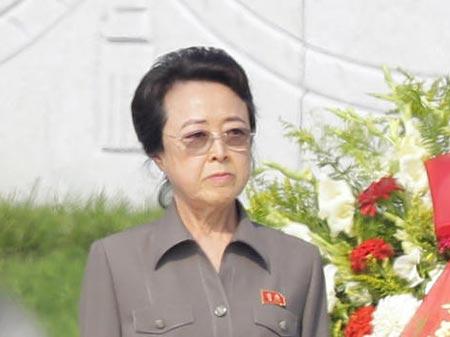 Bà Kim Kyong Hui.