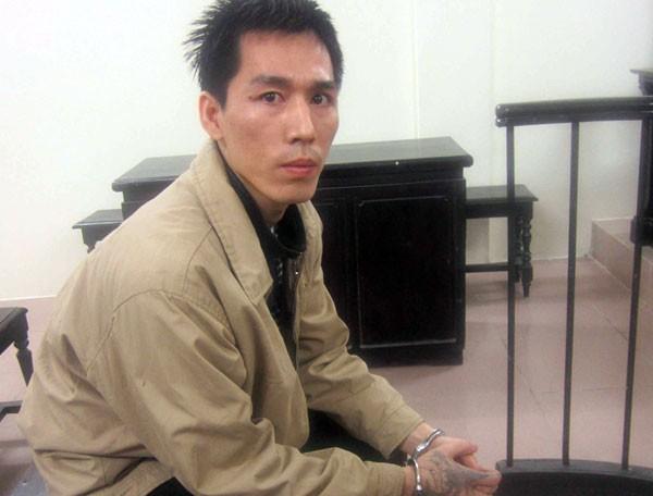 Bị cáo Nguyễn Khắc Tiệp tại phiên tòa.