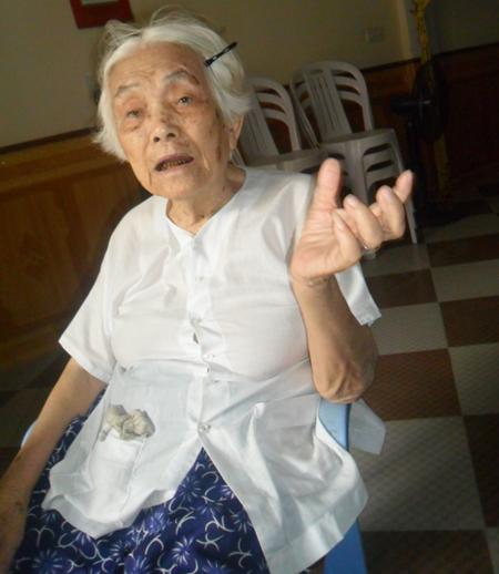 Cụ Sáo nay đã 91 tuổi