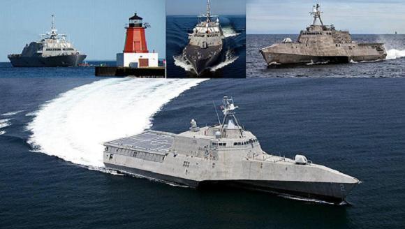 Các chiến hạm LSC thuộc loại tác chiến ven bờ (Littoral Combat Ship-LSC)