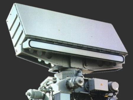 Radar TRS-3D được lắp đặt trên tàu LSC-1