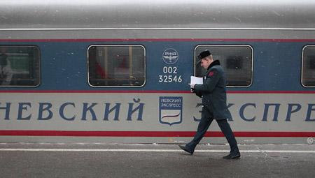 Ảnh minh họa: Tàu hỏa tại Nga.
