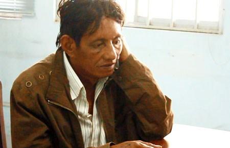 Huỳnh Trọng Vương bị bắt giữ sau hơn sáu tháng lẩn trốn tại Campuchia. Ảnh: XN