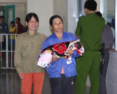 Một trong những cháu bé tử vong sau tiêm vaccine  viêm gan B vào ngày 20.7.2013