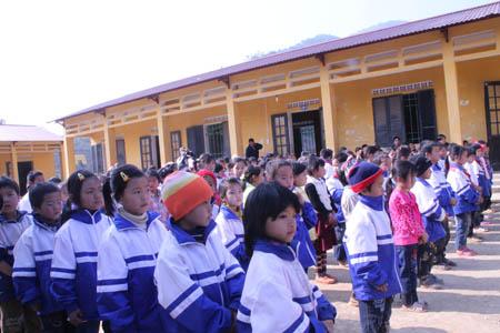 trường tiểu học Tam Kim (xã Tam Kim, huyện Nguyên Bình, tỉnh Cao Bằng)