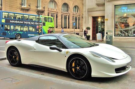 Siêu xe Ferrari 458