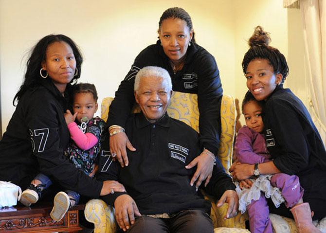 Ông Nelson Mandela, huyền thoại của cuộc đấu tranh chống phân biệt chủng tộc.