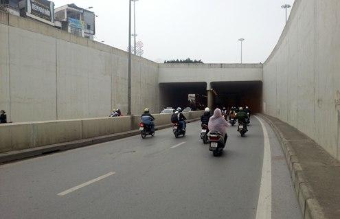 Hà Nội sắp có thêm hầm đường bộ Trần Nguyên Hãn, sau hầm Kim Liên và hầm Đại lộ Thăng Long. Ảnh: Phương Sơn.