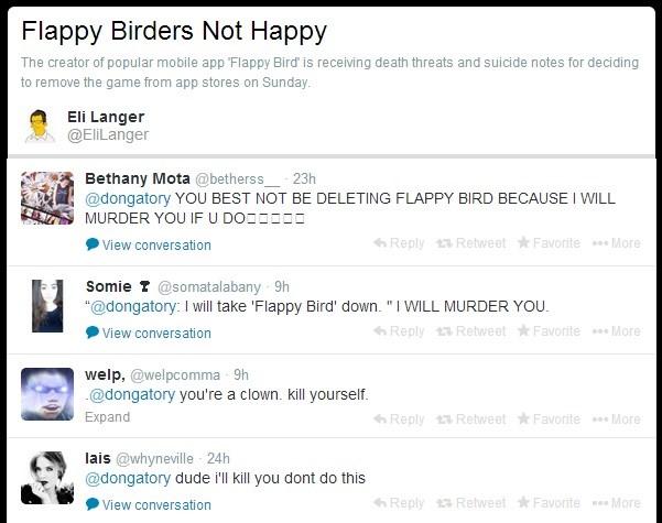 Nhiều tài khoản Twitter đã bày tỏ bức xúc khi ứng dụng bị gỡ bỏ (Nguồn: Twitter)