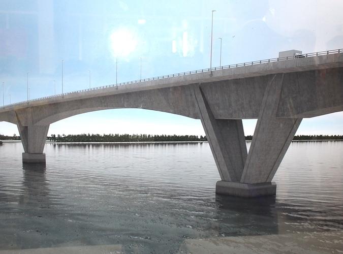Cầu Tân Vũ - Lạch Huyện sẽ là cây cầu bắc qua biển dài nhất Đông Nam Á