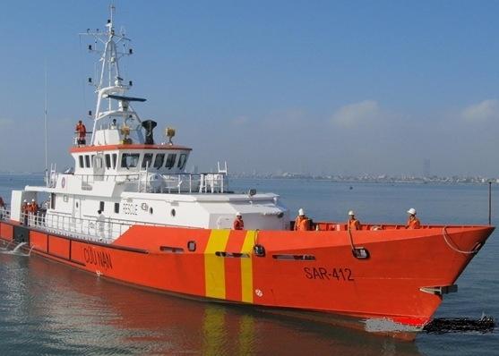 Tàu Sar 412 ra khơi cứu tàu bị nạn trên biển