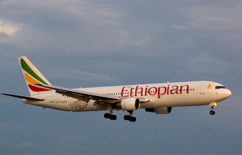 Một máy bay của Ethiopian Airlines. Ảnh: Airlinereporter