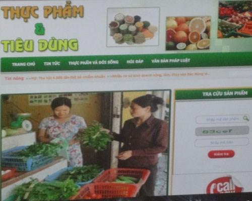 Chuyên trang thực phẩm và tiêu dùng. (Nguồn ảnh: PLO)