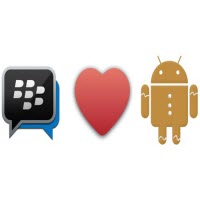 BlackBerry Messenger dành cho Android Gingerbread