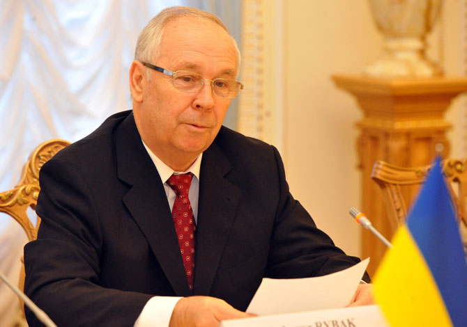 Chủ tịch Quốc hội Ukraine Volodymyr Rybak. (Nguồn: rada.gov.ua)