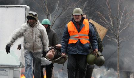 Số người thiệt mạng vì bạo loạn ở Kiev đang ngày càng gia tăng.