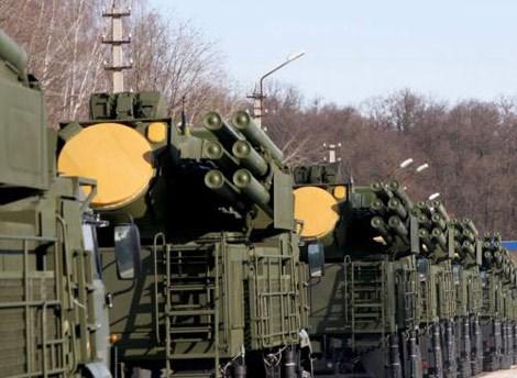 Tổ hợp pháo/tên lửa phòng không Pantsir-S1 sẵn sàng
