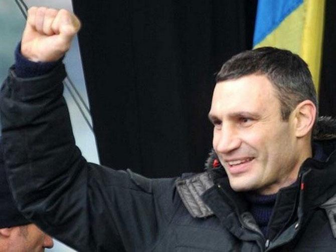 Cựu võ sĩ quyền Anh Vitali Klitschko.