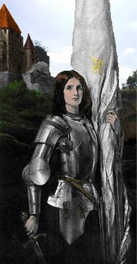Joan of Arc bị thiêu sống năm 1431 vì tội làm thuật phù thủy.