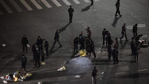 Hiện trường vụ tấn công (ảnh: Reuters)