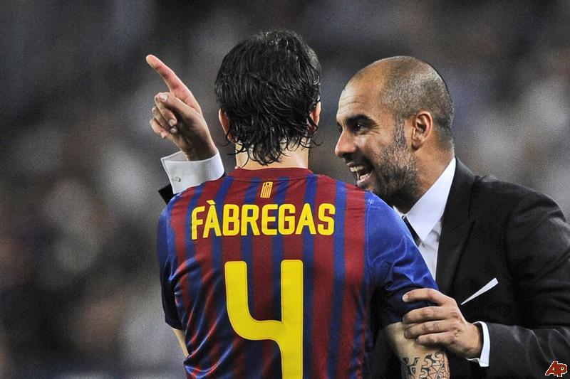 Pep Guardiola muốn tái hợp với Fabregas