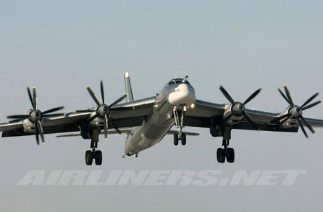 Khi đó, chiếc Tu-95 vào trạng thái hạ cánh hoàn toàn khiến thủy thủ tàu sân bay Mỹ mất vía. Ảnh minh họa