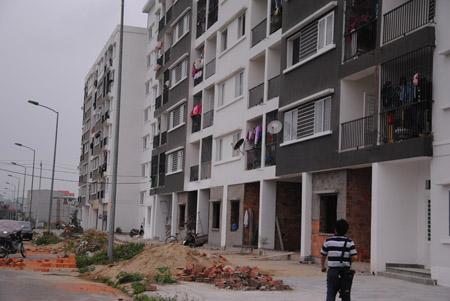 Khu chung cư thu nhập thấp do Công ty Vicoland làm chủ đầu tư tại khu đô thị An Vân Dương, TP.Huế.