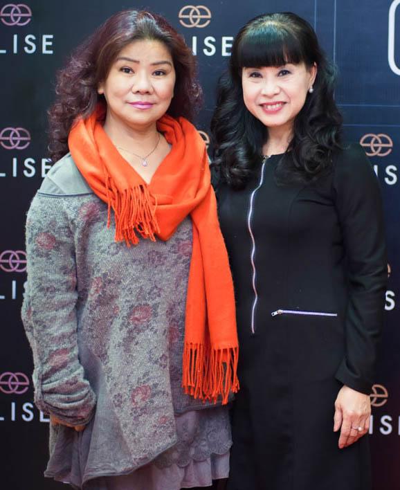 NSND Thanh Hoa và nghệ sĩ Hồng Liên
