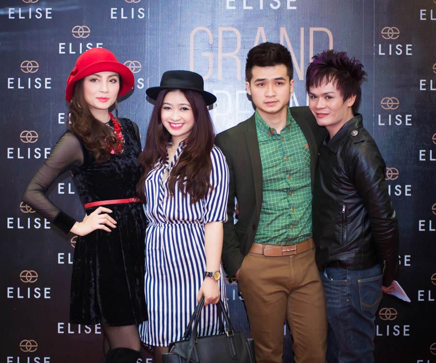 Học trò cưng của Mỹ Linh, Dương Hoàng Yến và bạn trai cũng có mặt tại sự kiện