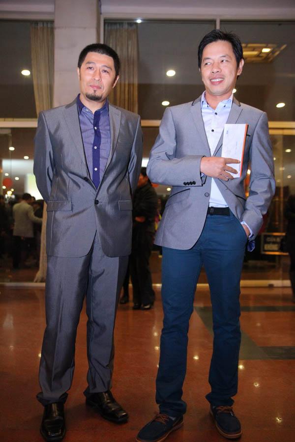 Đạo diễn Trí Nguyễn và Thái Hòa
