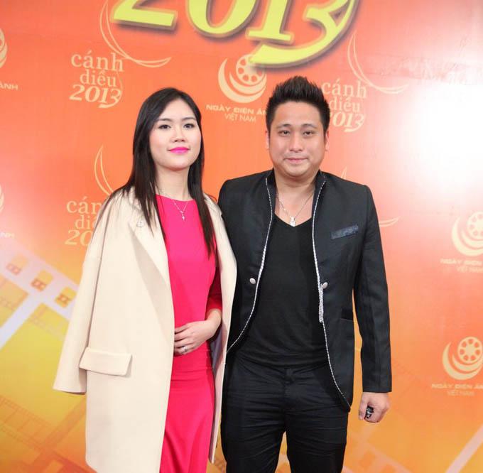 Vợ chồng diễn viên Minh Tiệp