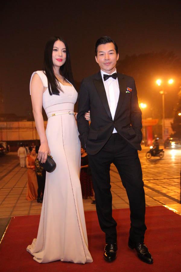 Vợ chồng Trương Ngọc Anh và Trần Bảo Sơn