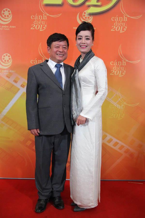 Vợ chồng nghệ sĩ Chiều Xuân và nhạc sĩ