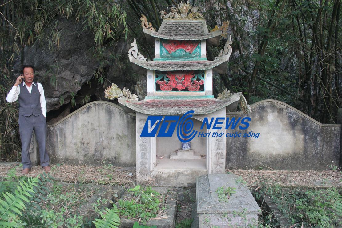 Khu mộ quy tập cả trăm bộ xương đào được ở sông Sào Khê