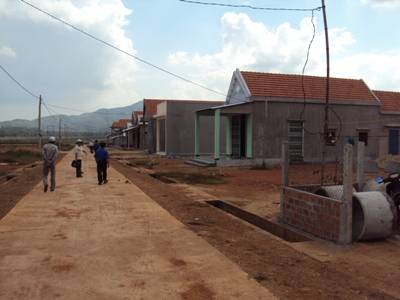 Xây dựng nông thôn mới ( NTM) ở xã Cát Khánh, huyện Phù Cát- Bình Đinh (Nguồn ảnh: TTĐT BĐ)