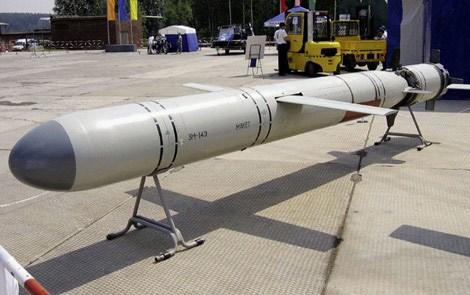 Đạn tên lửa hành trình đối đất phóng từ tàu ngầm 3M-14E.