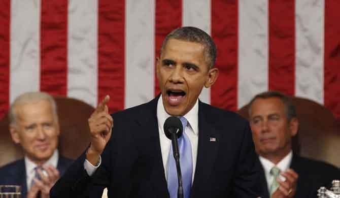 Tổng thống Mỹ phát biểu với báo giới tại Hà Lan hôm 24.3.