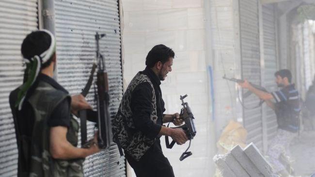 Một cuộc giao tranh giữa quân chính phủ và phe nổi dậy ở Syria. (Nguồn: presstv)