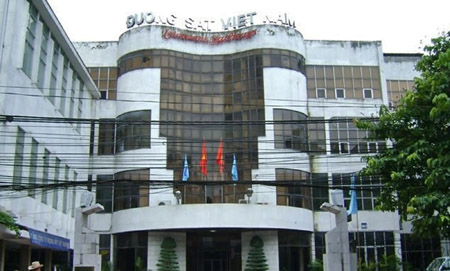 Trụ sở Tổng Công ty Đường sắt Việt Nam.