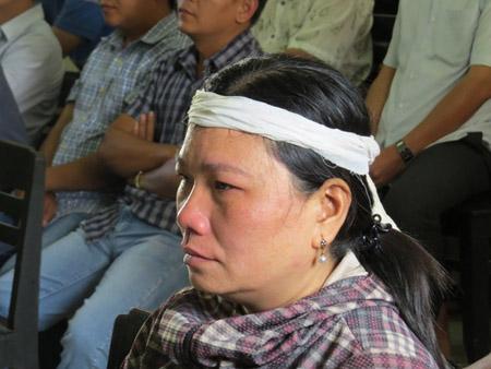 Bà Ngô Thị Tuyết (chị ruột nạn nhân Kiều).