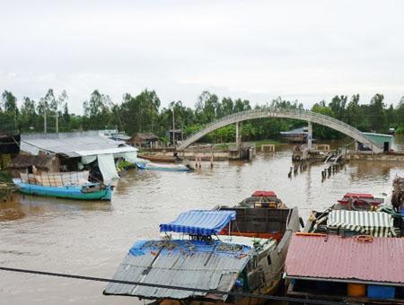 Hệ thống thủy lợi hiện tại  không đáp ứng được  cho nuôi trồng thủy sản.