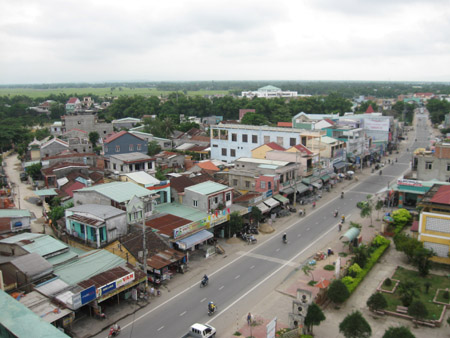 Điện Bàn đang hướng tới một đô thị hiện đại và mang bản sắc riêng.