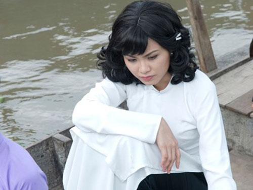 Một cảnh quay của Diễm Hương trong phim Mỹ nhân Sài thành. (Nguồn: NLĐ)
