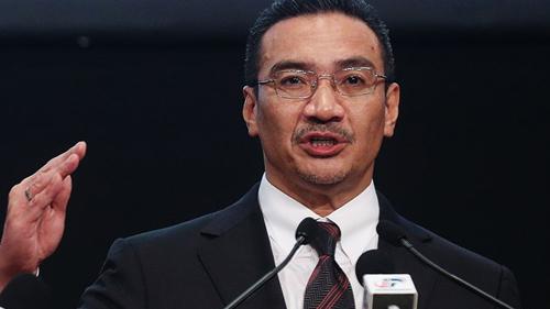 Quyền Bộ trưởng Giao thông Malaysia Hishammuddin Hussein.(Ảnh: Tân Hoa xã)