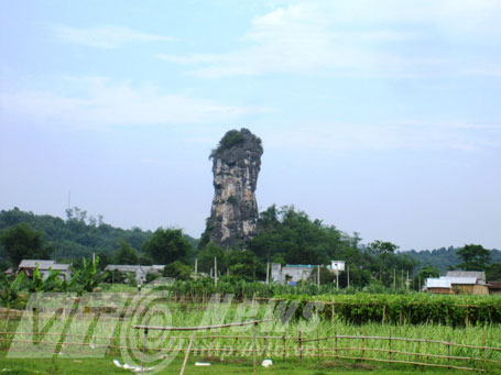 Núi Cột Cờ, biểu tượng của xứ sở Mường Bi cổ xưa và huyền thoại